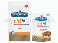 Hill's Prescription Diet c/d Feline Urinary Stress Reduced Calorie